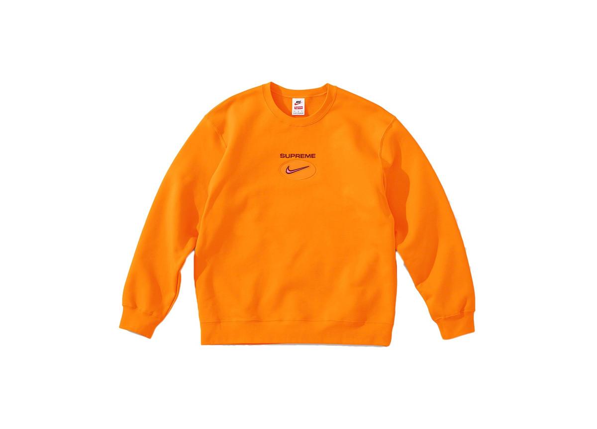 Supreme x Nike Jewel Crewneck Orange
