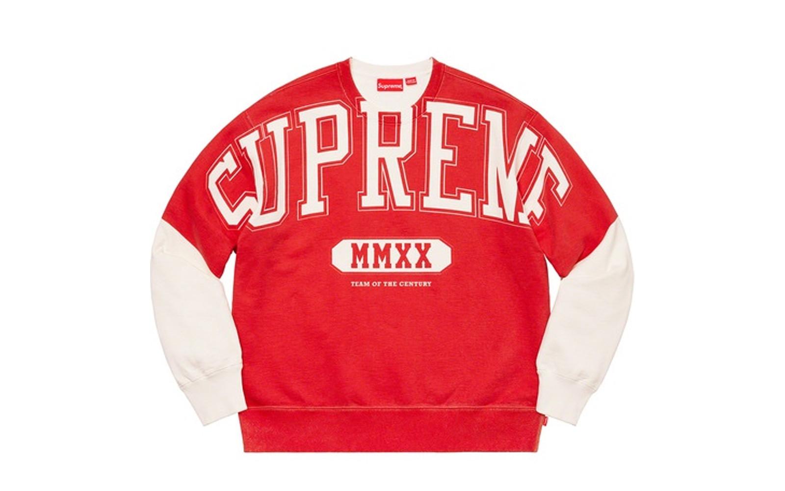 Supreme Overprint Crewneck