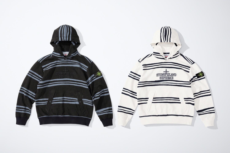 Supreme x Stone Island FW20 hoodie