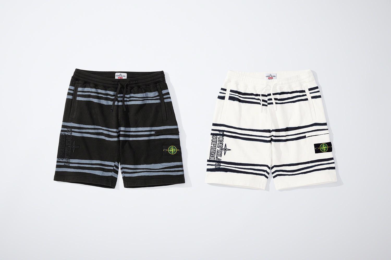 Supreme x Stone Island FW20 shorts