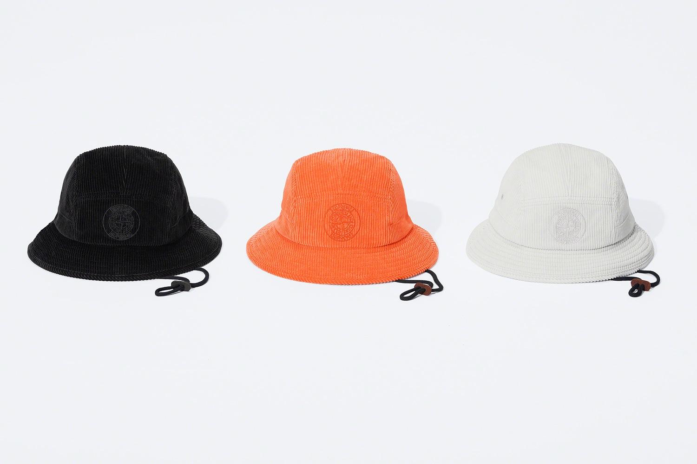Supreme x Stone Island FW20 bucket hat