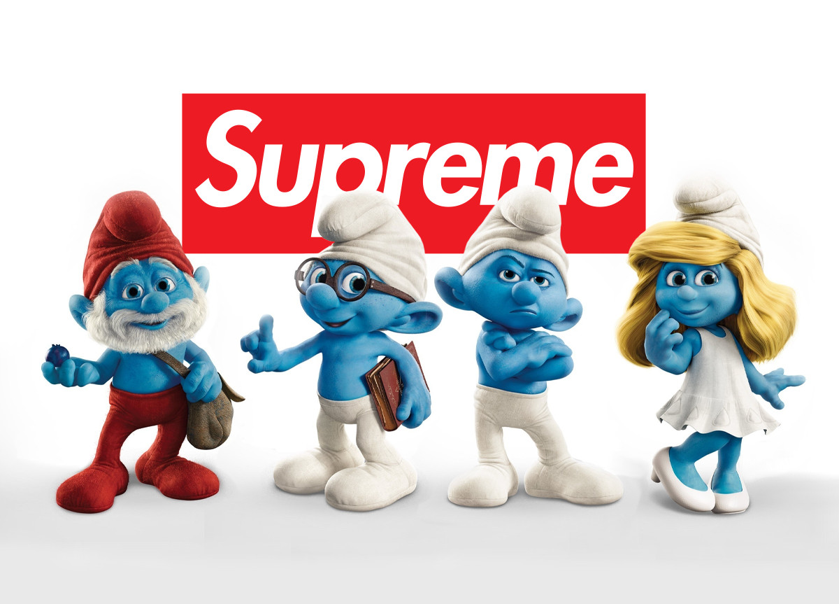 Supreme The Smurfs I Puffi