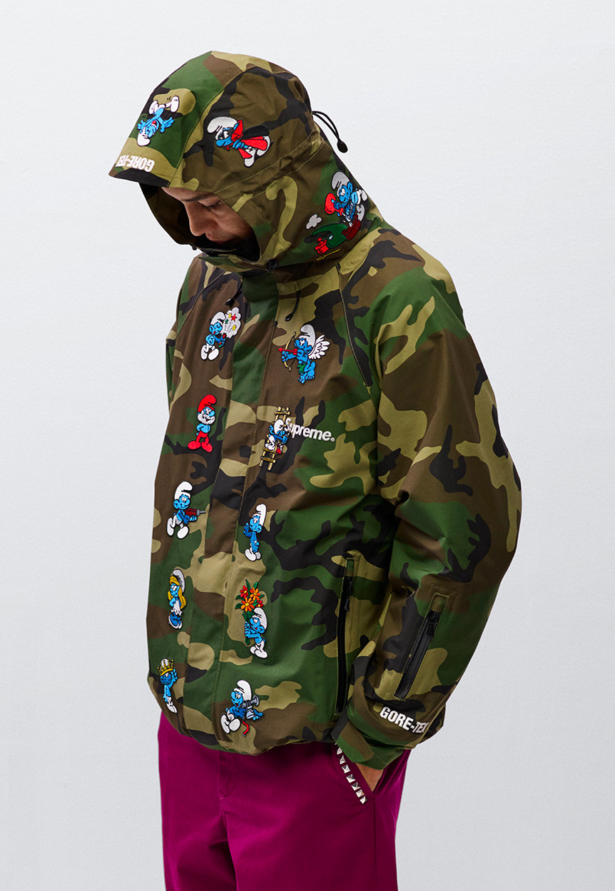 Supreme The Smurfs GORE-TEX Jacket