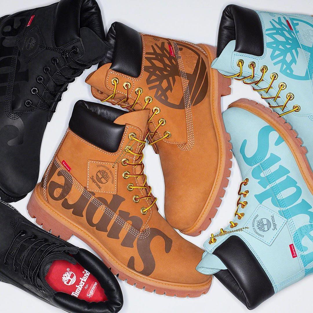 Supreme x Timberland boot
