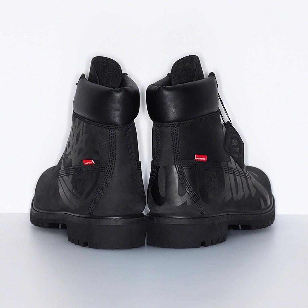Supreme x Timberland boot nero