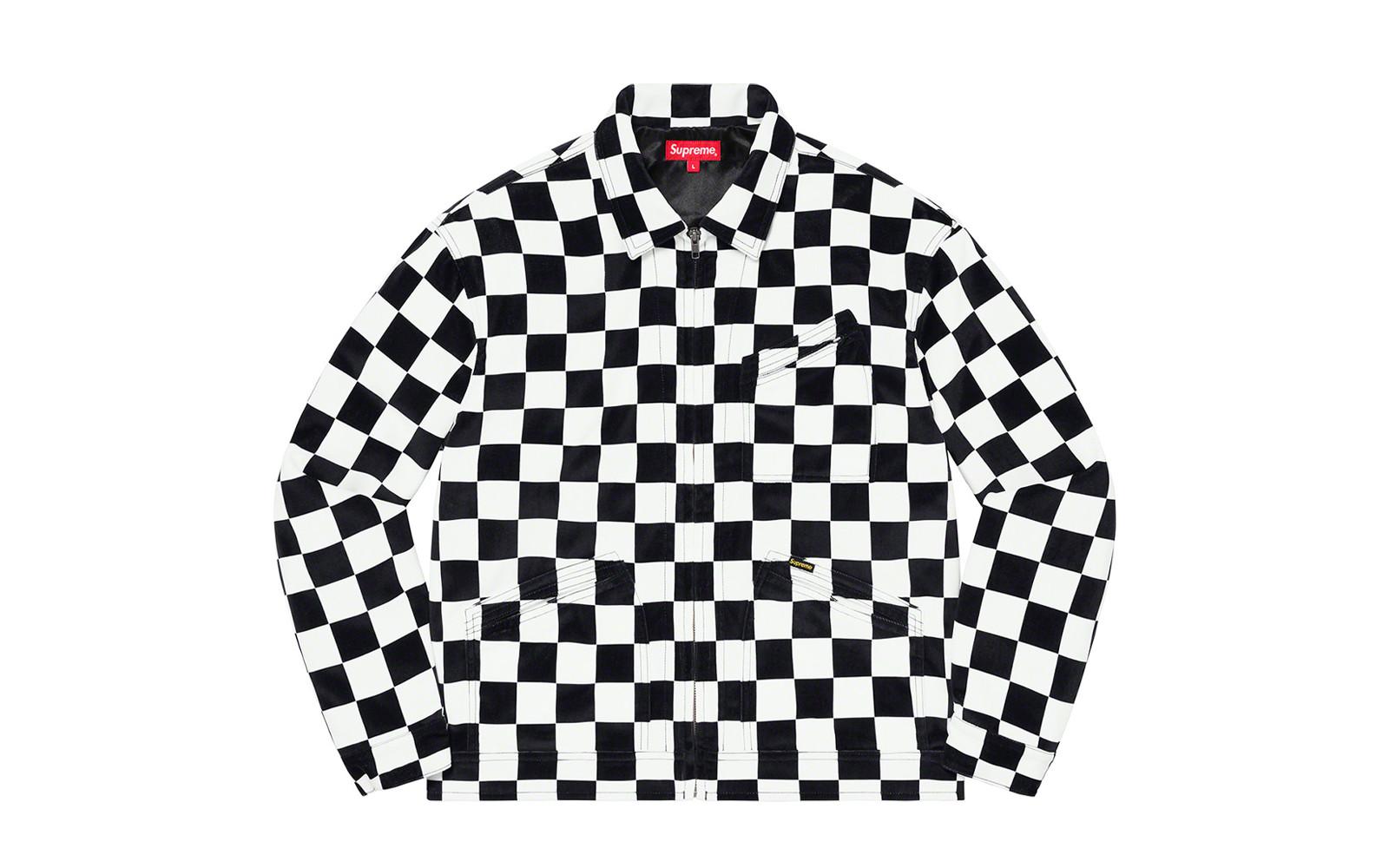 Supreme Velvet Work Jacket