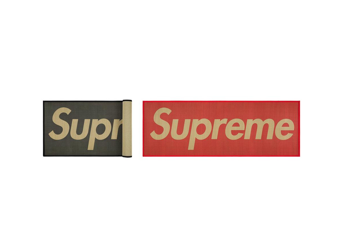 Supreme Week 8 Woven Straw Mat