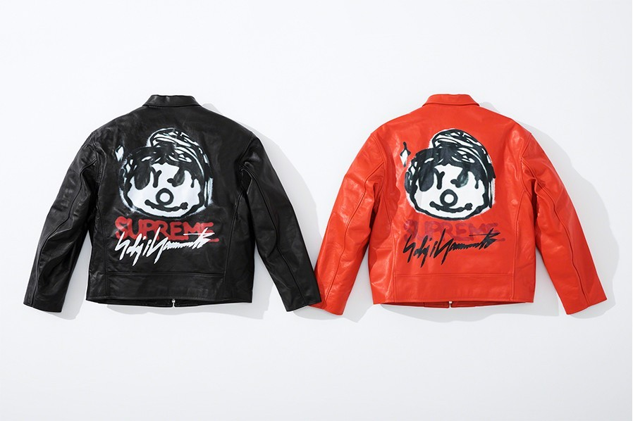 Supreme x Yohji Yamamoto leather jacket