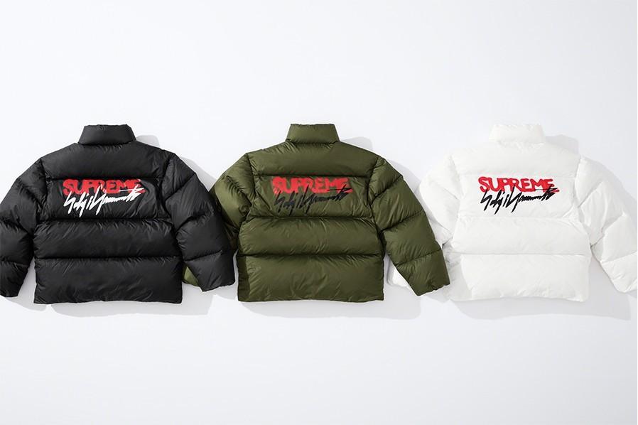 Supreme x Yohji Yamamoto puffer jacket