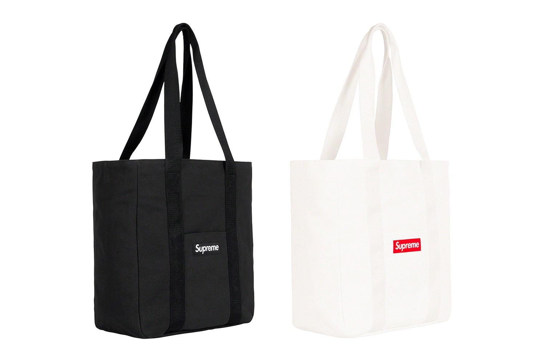Supreme canvas bag