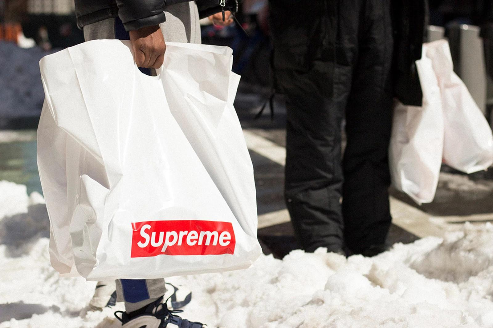 Supreme shopping