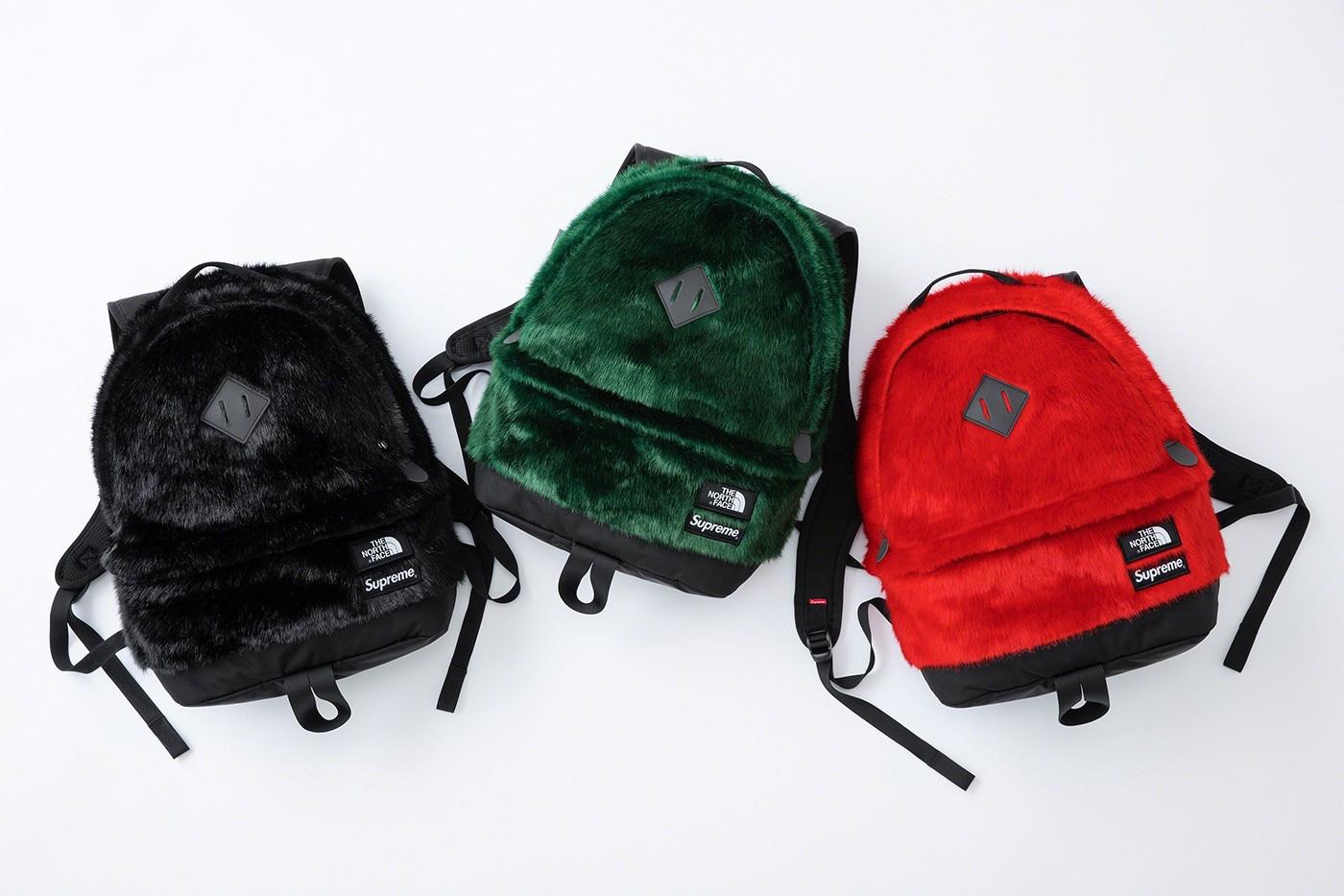 Supreme x The Nort Face Faux Fur Backpack 25L