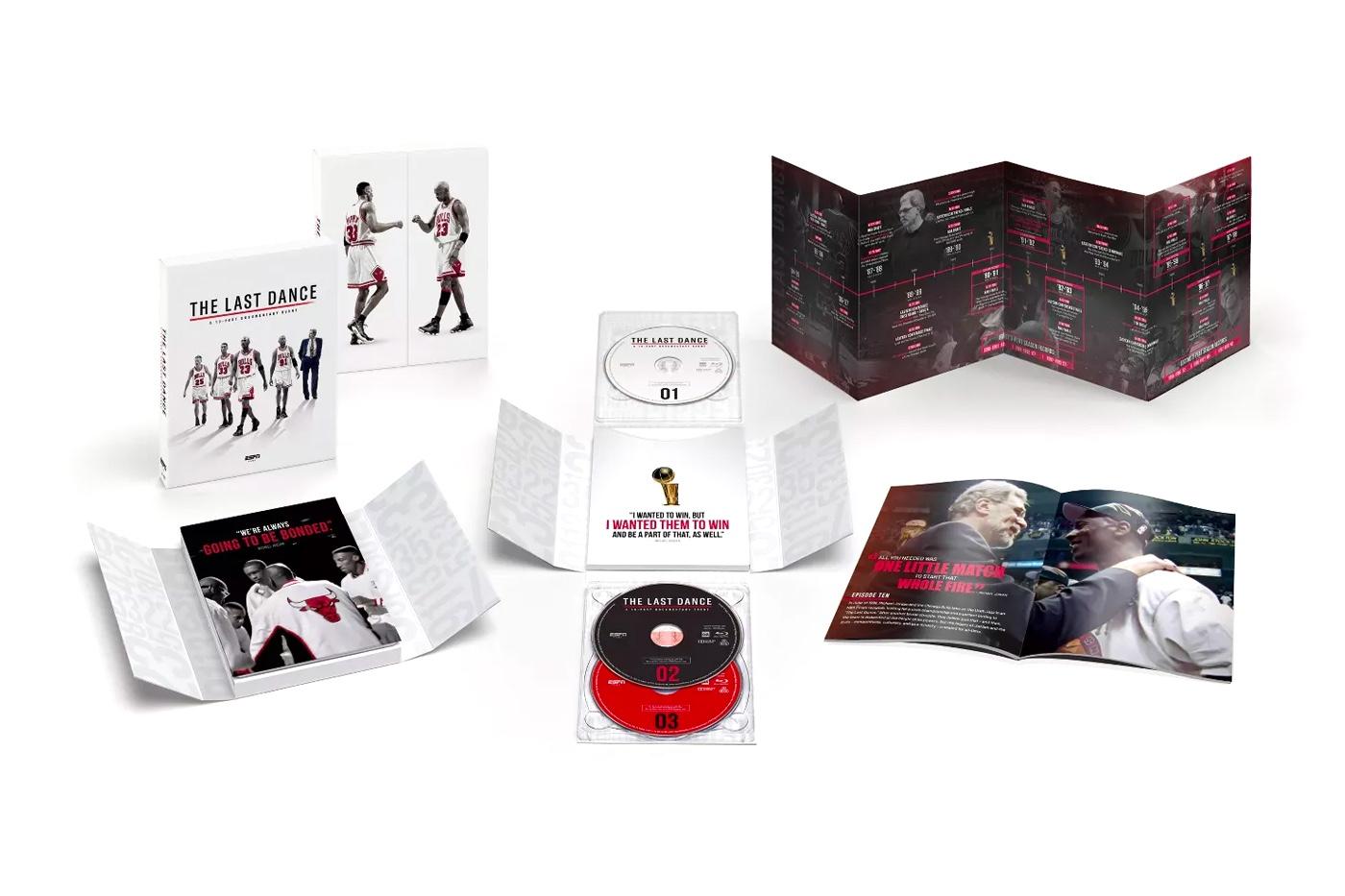 """The Last Dance"" Blu-Ray Box Set"