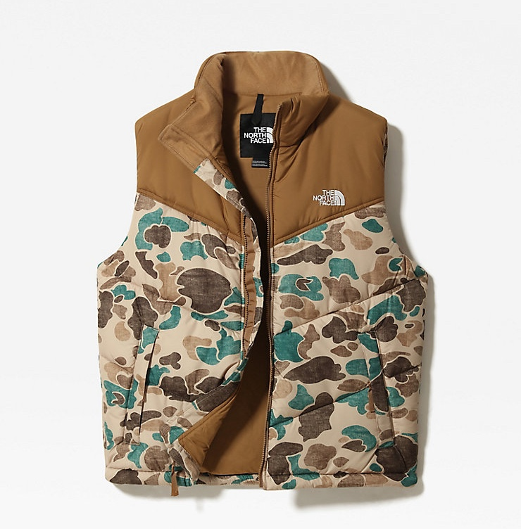 The North Face Gilet camo