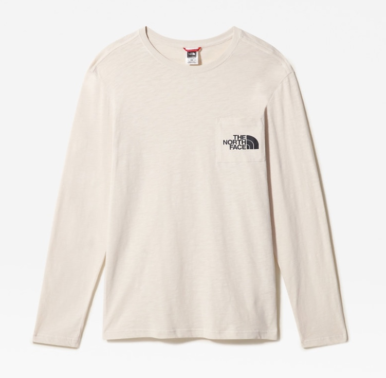 The North Face Long Sleeve cream