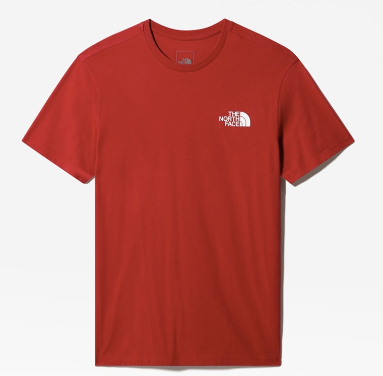 The North Face T-shirt red