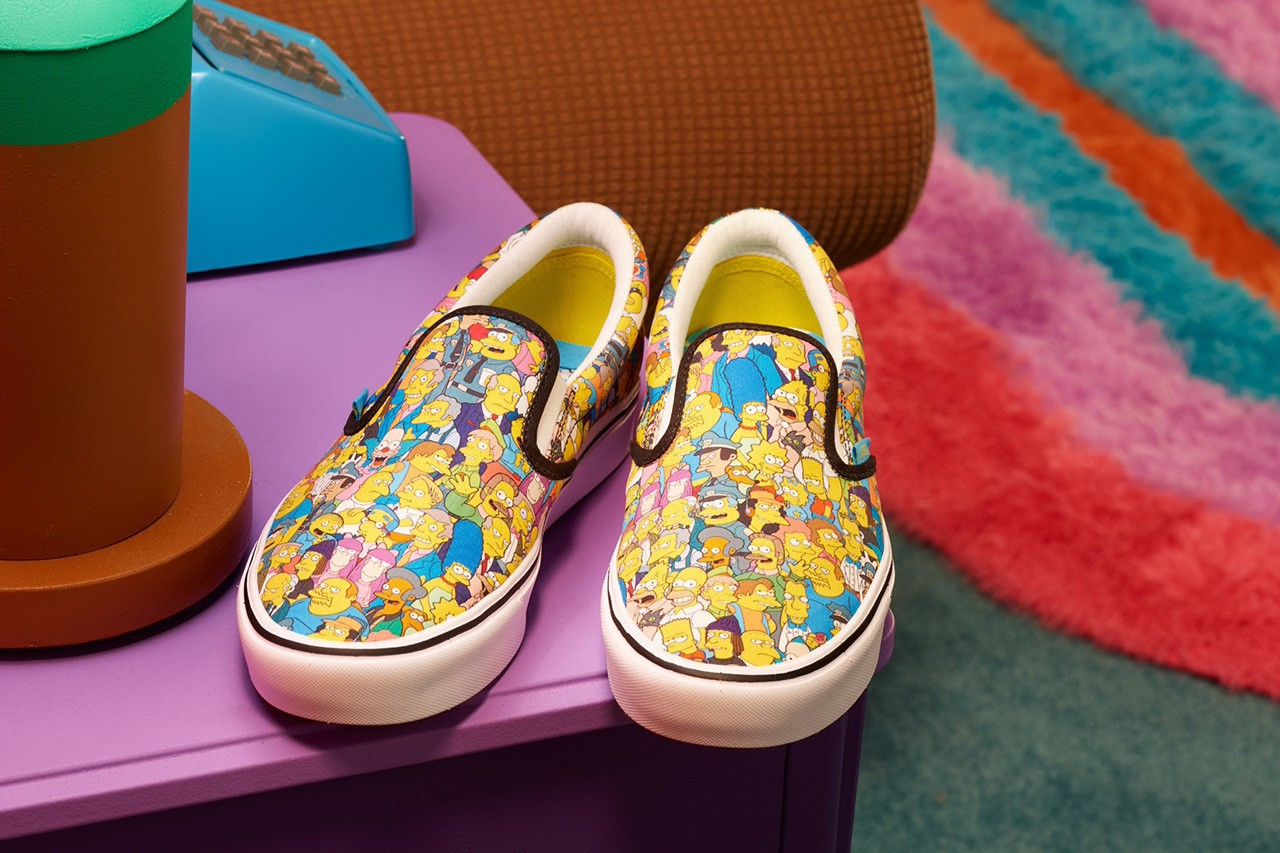 The Simpsons x Vans Capsule Collection