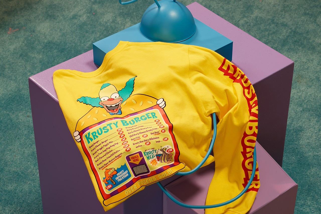 The Simpsons x Vans Felpa gialla Krusty Il Clown