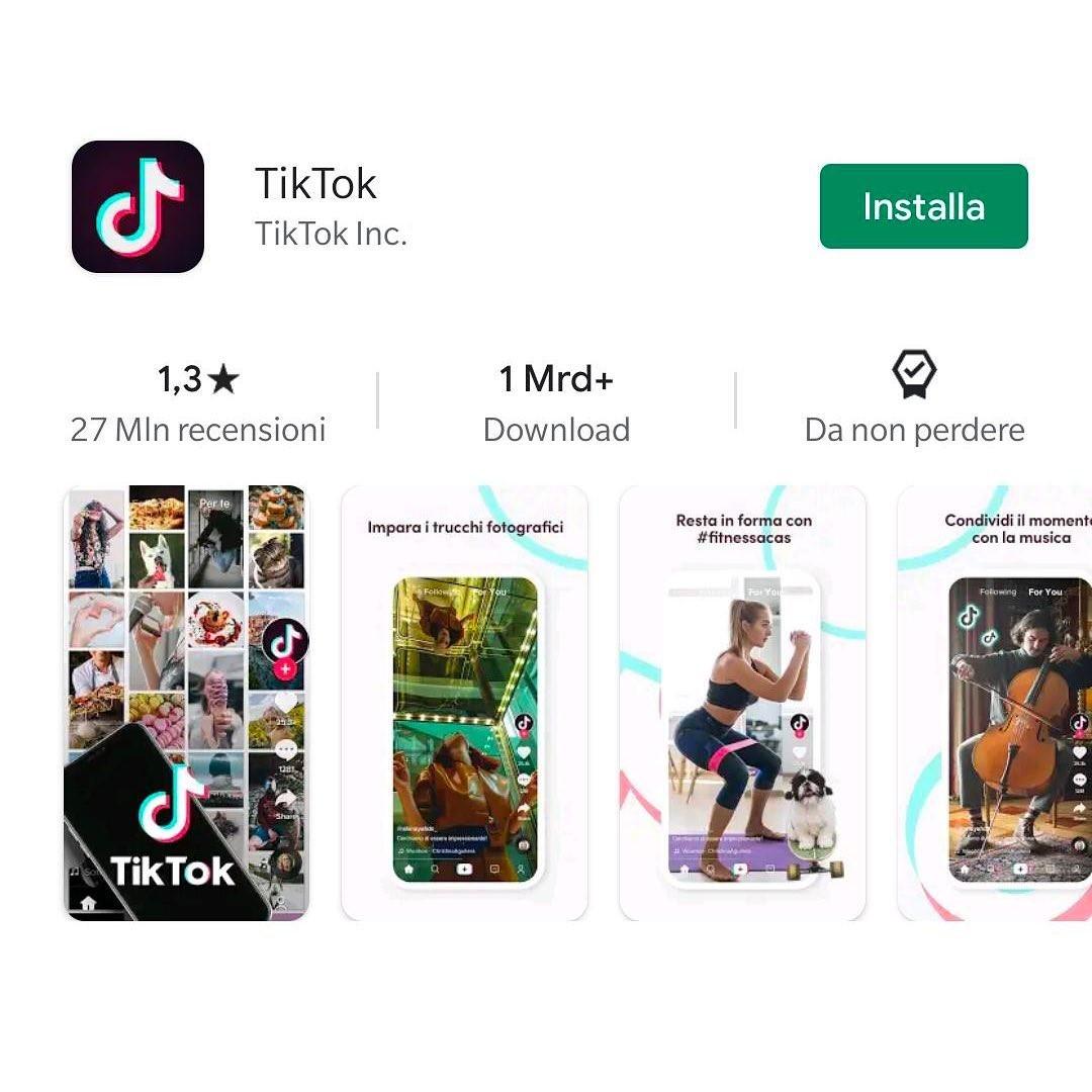 TikTok Rating