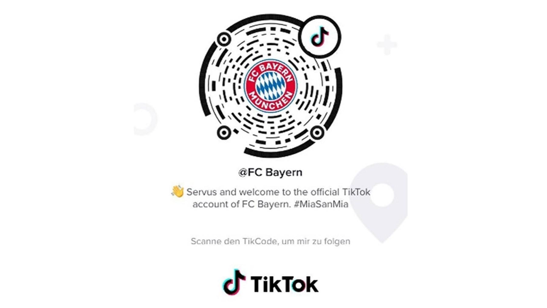 TikTok Bayern Monaco