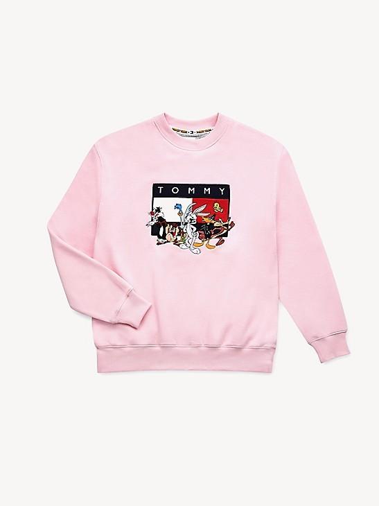 Tommy Hilfiger x Warner Bros Hoodie rosa