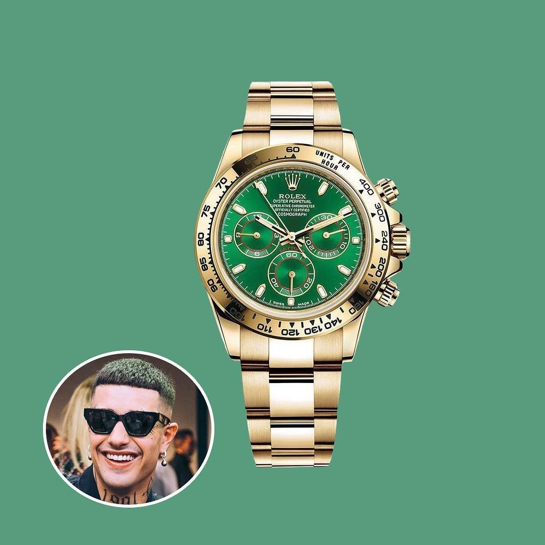 Tony Effe - ROLEX DAYTONA GREEN GOLD