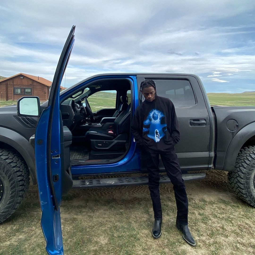 Travis Scott Ford Raptor