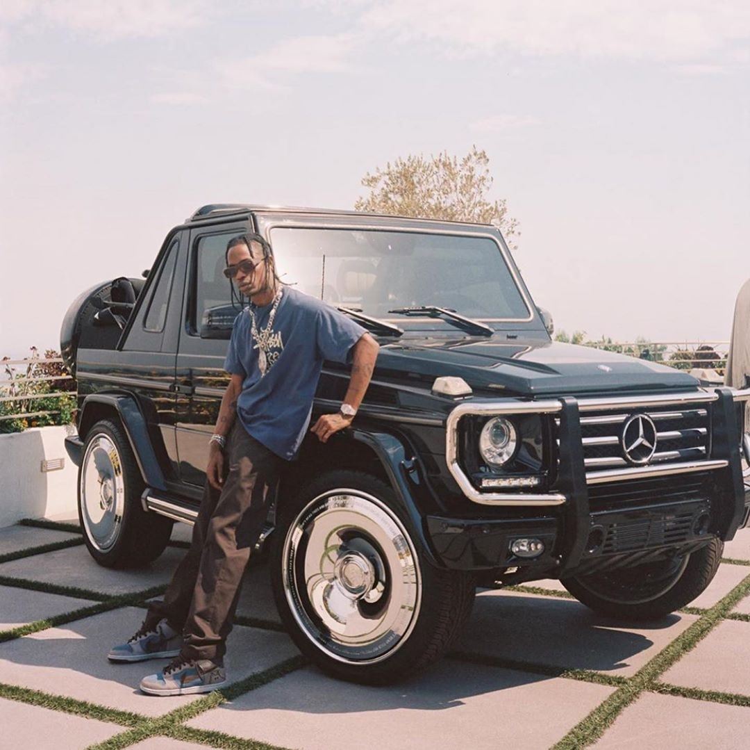 Travis Scott Mercedes G Wagon
