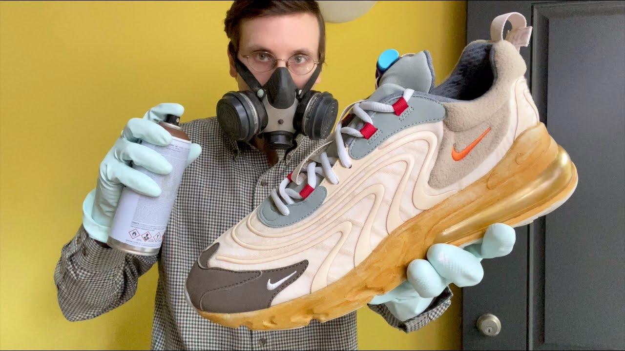 Travis Scott Nike Air Max 270 React Brad Hall