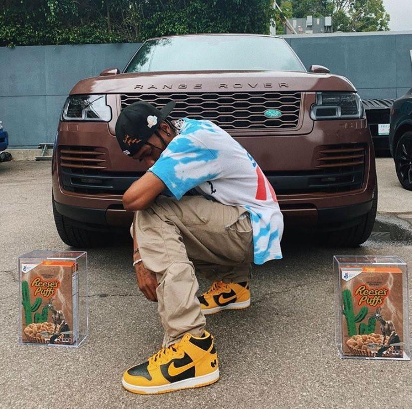 Travis Scott Range Rover