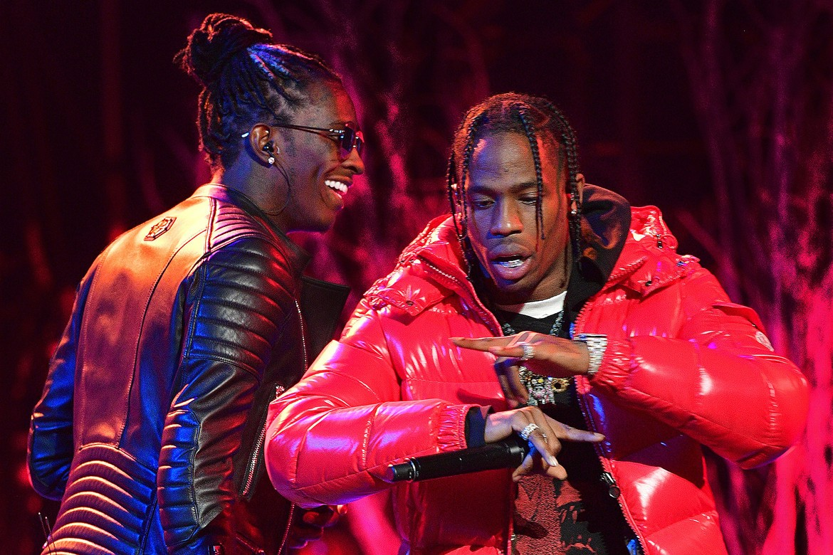 Travis Scott Young Thug live