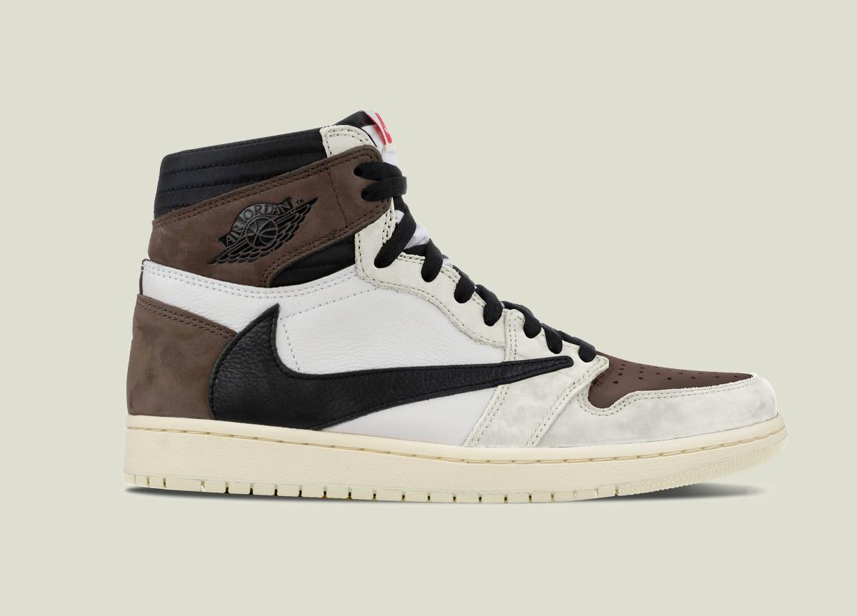 Travis Scott x Air Jordan 1 High White