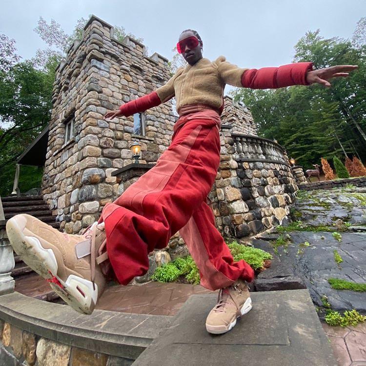 "Travis Scott x Air Jordan 6 ""British Khaki"" Bloody Osiris"