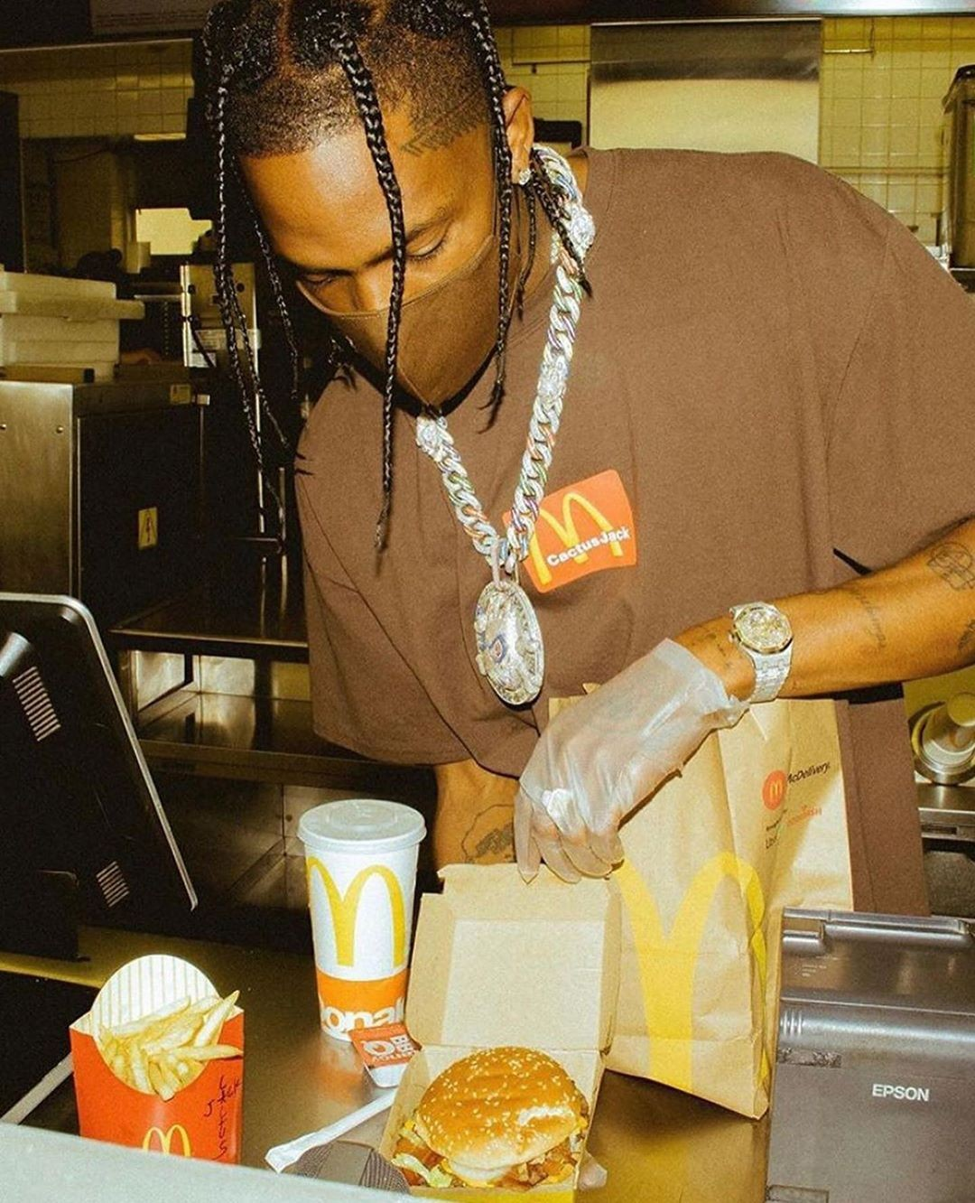 Travis Scott x McDonalds