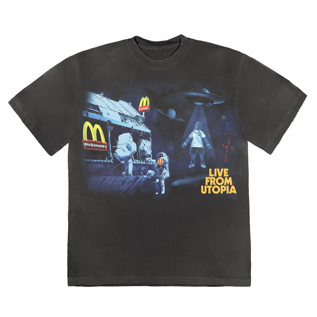 Travis Scott x McDonald's T-shirt