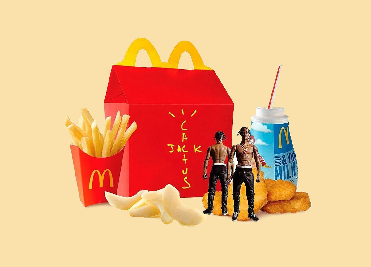 Travis Scott x McDonald's menù Happy Meal