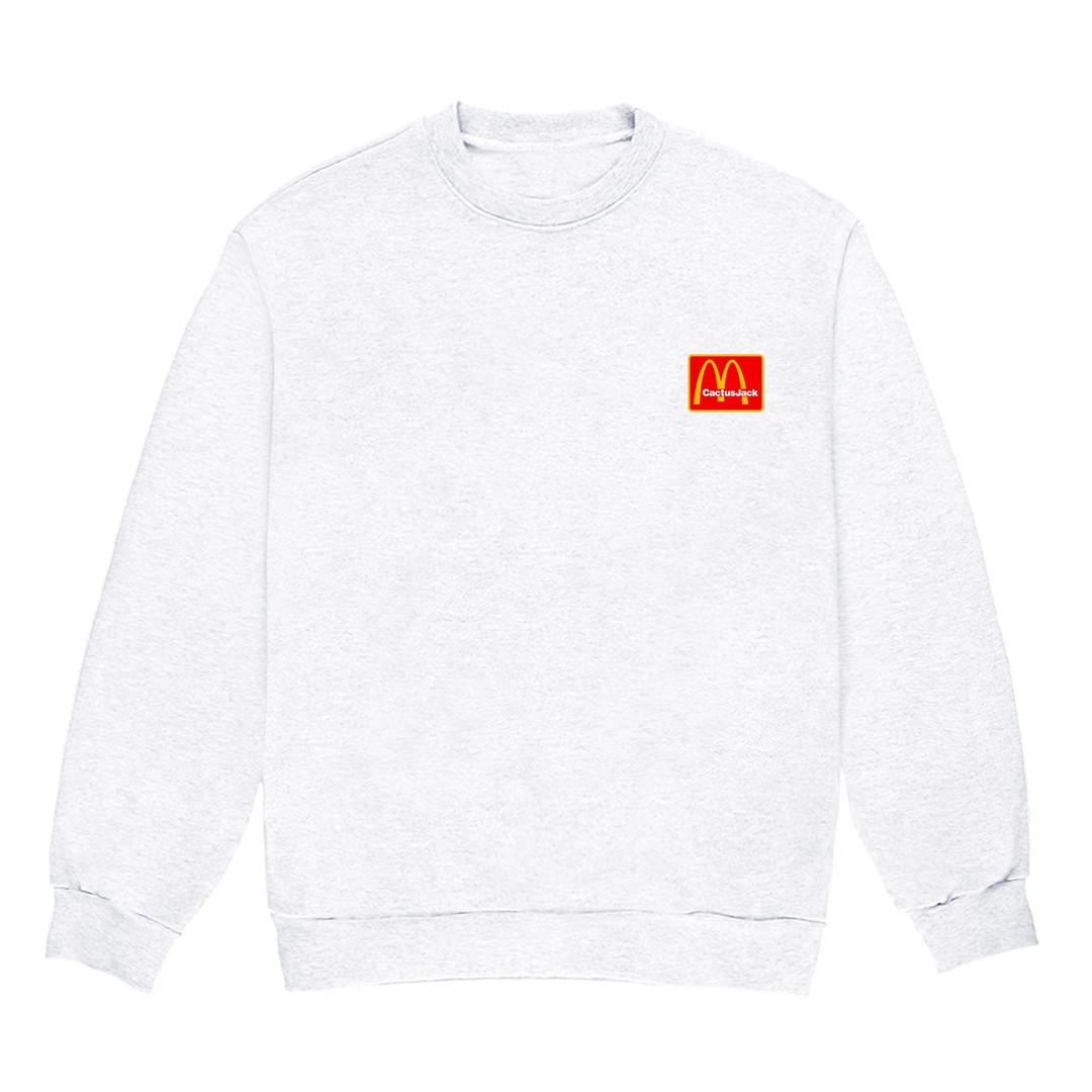 Travis Scott x McDonald's crewneck T-shirt