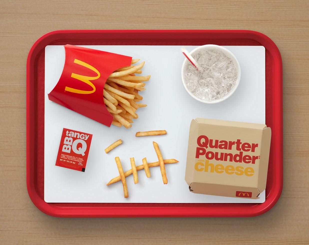 Travis Scott x McDonalds menù