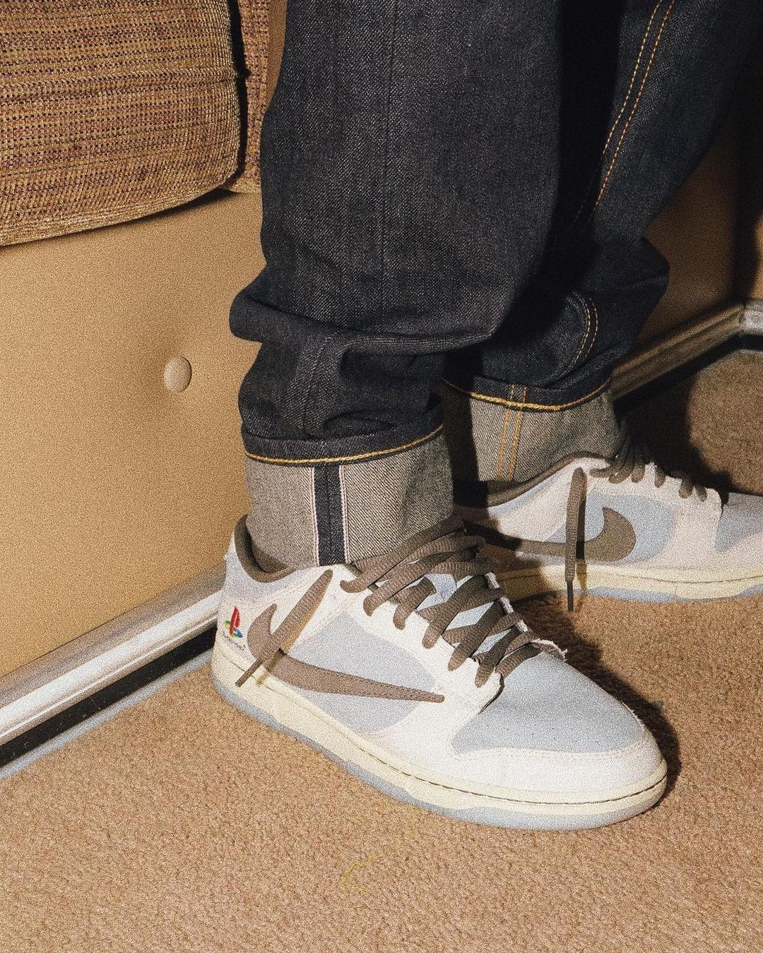 Travis Scott x PlayStation Nike Dunk Low