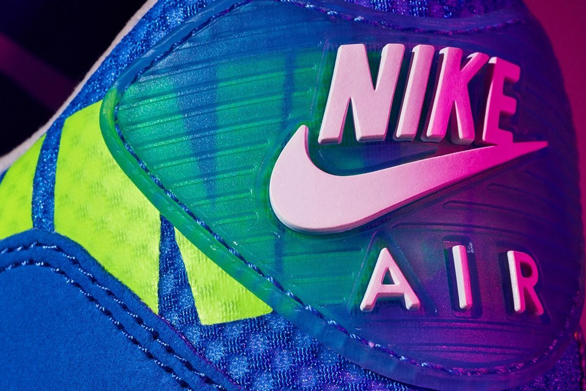 air max 90 blu eletrico
