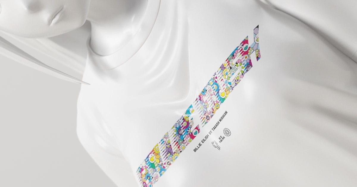 UNIQLO Billie Eilish Takashi Murakami T-Shirt