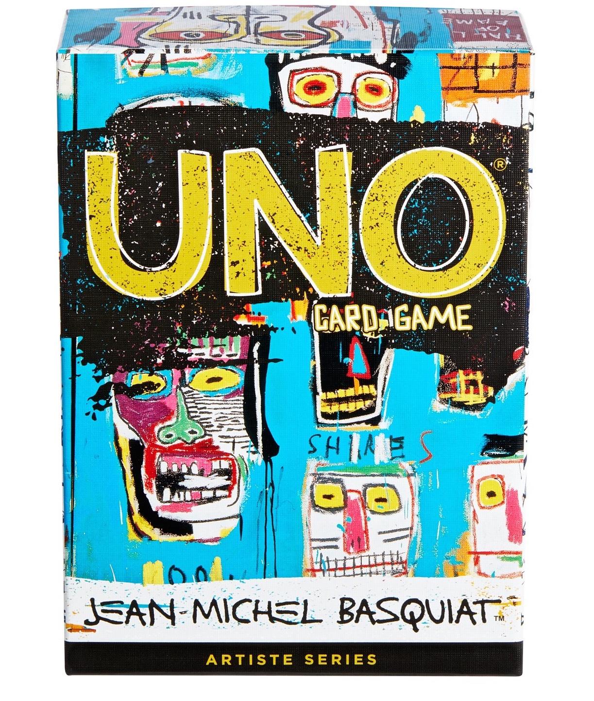 UNO Artiste Series Jean Michel Basquiat carte da gioco da tavolo