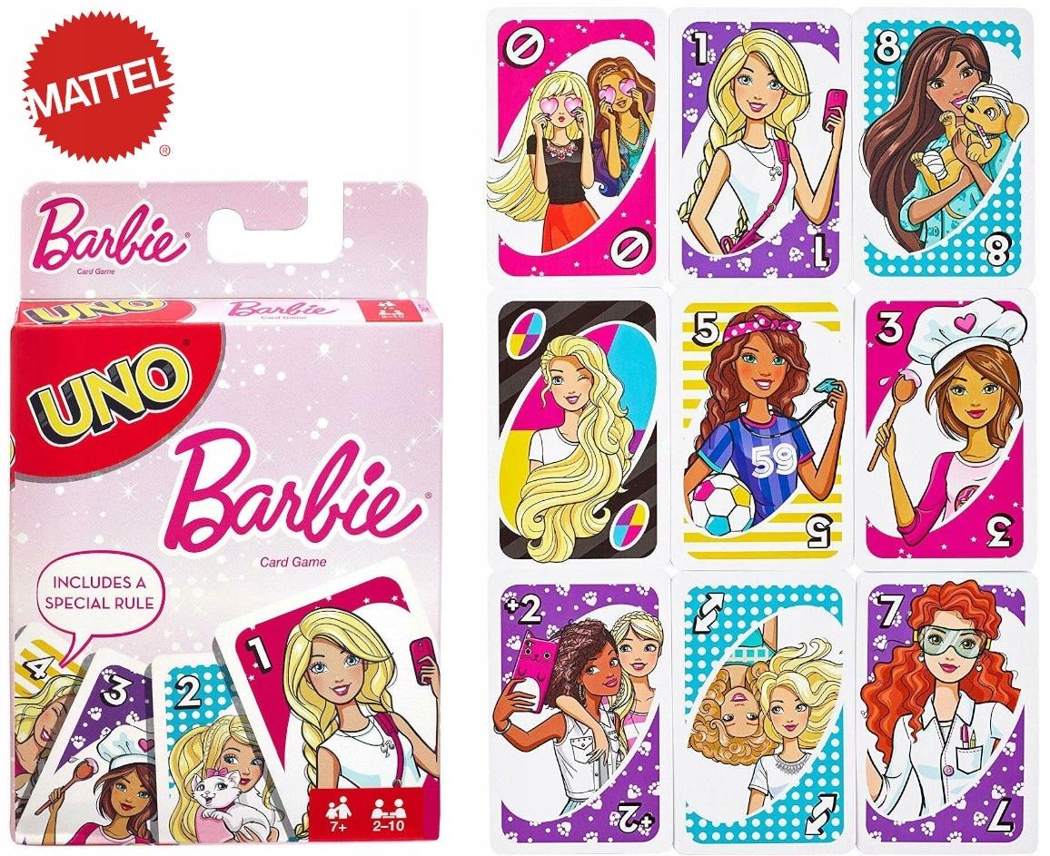 UNO Barbie carte da gioco da tavolo