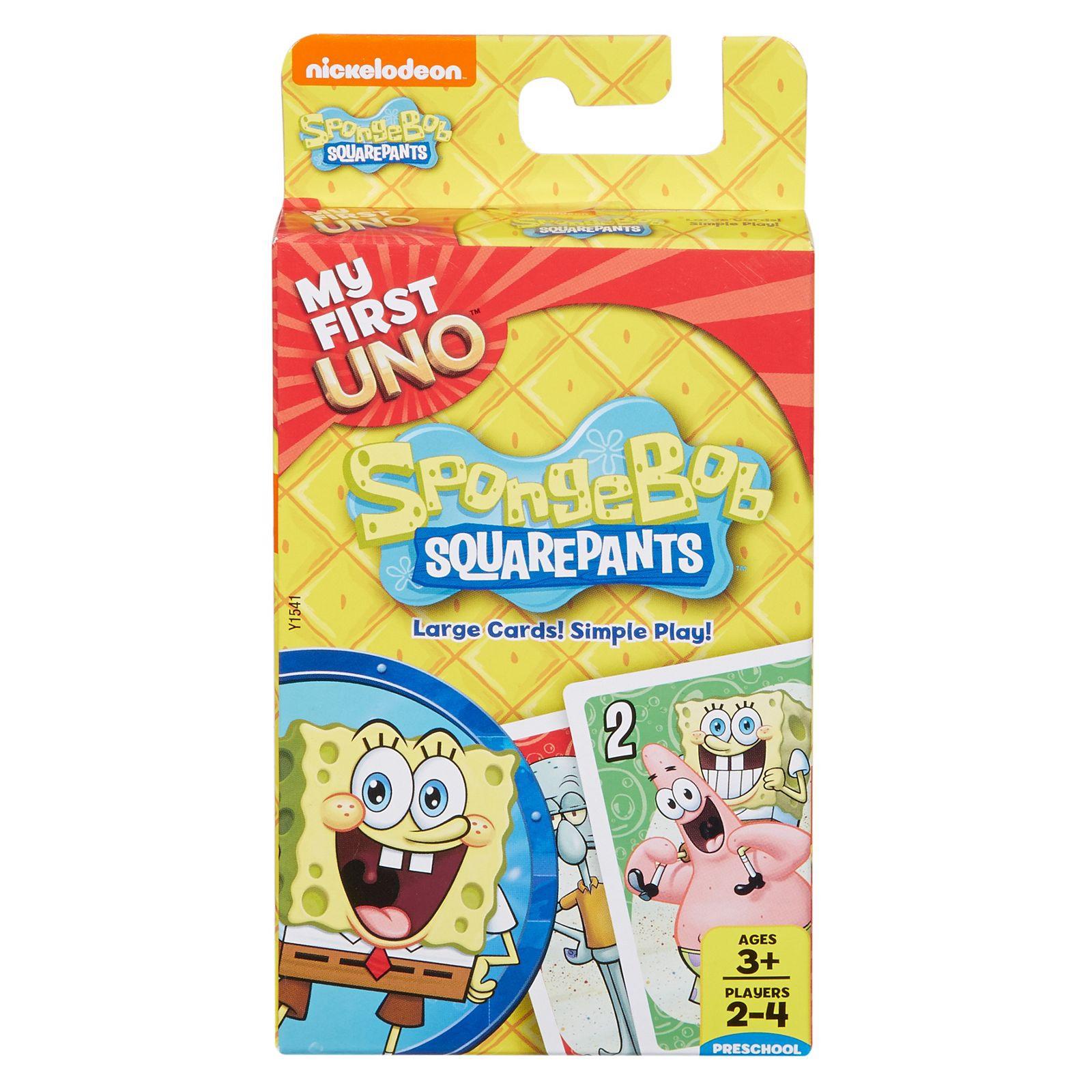 UNO SpongeBob carte da gioco da tavolo