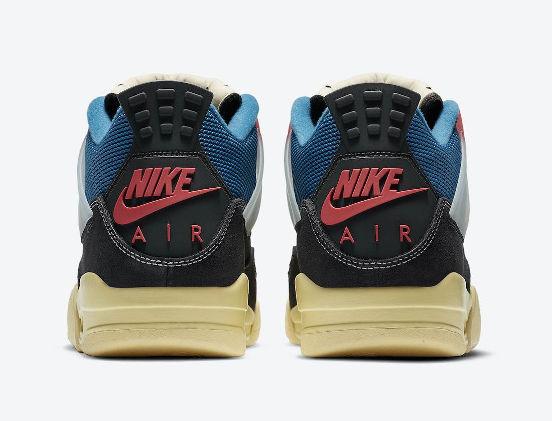 """Union LA x Air Jordan 4 """"Off Noir"""""""