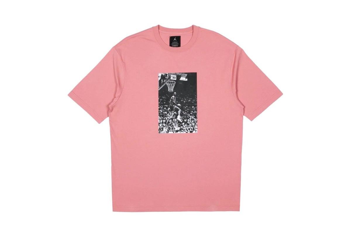 Union LA x Jordan Brand t-shirt pink
