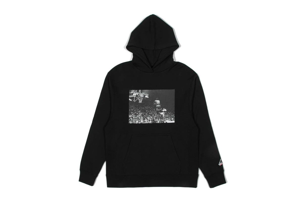 Union LA x Jordan Brand hoodie black