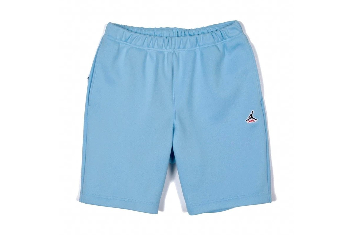 Union LA x Jordan Brand shorts azzurri