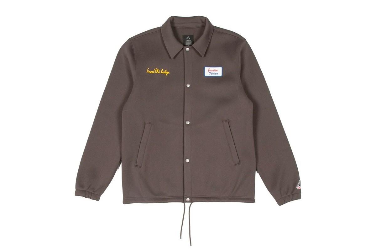 Union LA x Jordan Brand coach jacket
