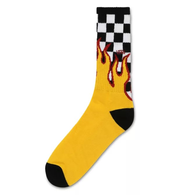 Vans socks quadretti e fiamme